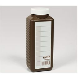 Kaiser Butelka na chemię 1000ml brązowa z kategorii Pozostałe akcesoria do ciemni