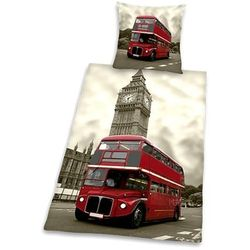 LONDYN LONDON BUS AUTOBUS POŚCIEL 140X200 (4006891631374)