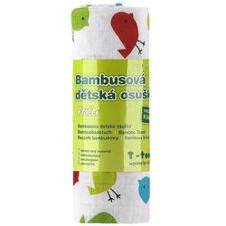 T-tomi ręcznik bambusowy, ptaszki