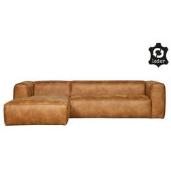Narożna skórzana sofa bean - różne warianty lewostronny marki Woood