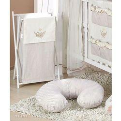 MAMO-TATO Kosz na bieliznę Śpioch w hamaku w brązie z kategorii kosze na pranie