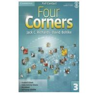 Four Corners Level 3 Full Contact with Self-study CD-ROM, oprawa miękka