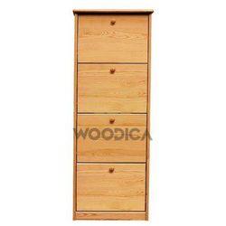 Szafka na buty iv (wąska/szeroka) 58x150x29 marki Woodica