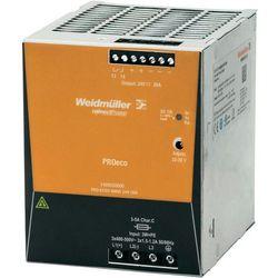 Zasilacz na szynę DIN Weidmueller PRO ECO3 480W 24 V 20A 24 V/DC 20 A 480 W 1 x (transformator elektryczny)