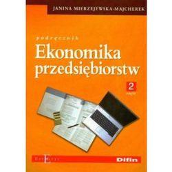 Ekonomika przedsiębiorstw część 2, książka z kategorii Biznes, ekonomia