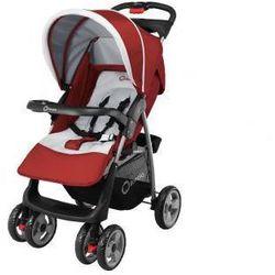 Wózek spacerowy spacerówka  emma zestaw torba czerwony wyprodukowany przez Lionelo