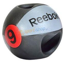 Piłka lekarska z podwójnym uchwytem 9kg Reebok