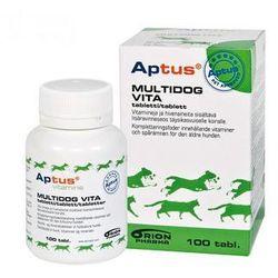 aptus multidog senior d.vita preparat witaminowo-mineralny dla psów 100tabl. wyprodukowany przez Orion pharma