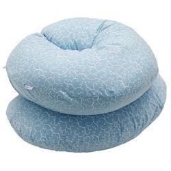 kojec, poduszka dla kobiet w ciąży niebieskie listki, marki Motherhood