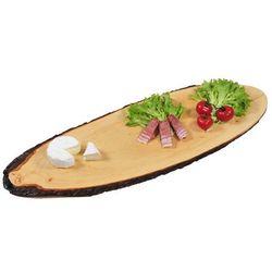 Ozdobna deska do krojenia z olchy, deska do krojenia, deska do serwowania, deska kuchenna, półmisek, akcesoria kuchenne, Kesper (4000270612039)