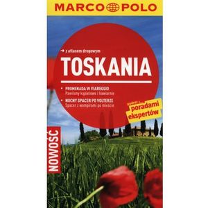 Toskania. Przewodnik Marco Polo Z Atlasem Drogowym, Campetti, Christiane Buld