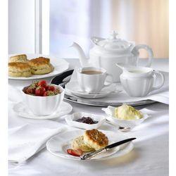 surrey biały serwis obiadowo-herbaciany 20el marki Royal crown derby