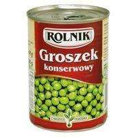 Groszek konserwowy 400 ml  marki Rolnik