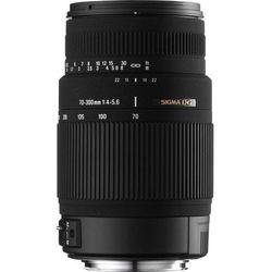 Obiektyw SIGMA 70-300 F4-5.6 DG MACRO (Nikon) + DARMOWY TRANSPORT! - produkt z kategorii- Obiektywy fotogr