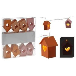 LAMPKI LEDOWE DOMKI POMARAŃCZOWE - sprawdź w wybranym sklepie