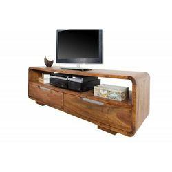 Invicta szafka pod telewizor goa 130 cm - sheesham, drewno naturalne marki Sofa.pl