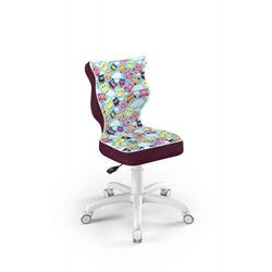 Krzesło dziecięce na wzrost 133-159cm Petit biały ST32 rozmiar 4