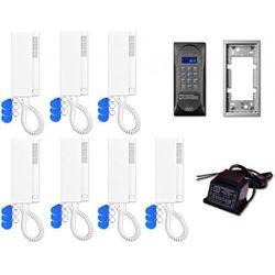 Aco Domofon wielolokatorski cdnp6acc dla 7 lokatorów.