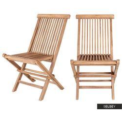 Selsey zestaw dwóch krzeseł ogrodowych rewani (5903025365862)