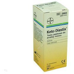 Test pask. Ketodiastix, (Bayer), 50 pasków (Preparaty na poziom cukru)