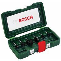 Bosch Zestaw frezów  promoline (6 elementów) + darmowy transport! (3165140415811)