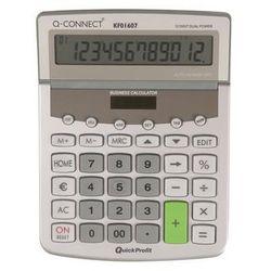 Kalkulator biurkowy premium 12-cyfrowy, 154x205mm, szary marki Q-connect