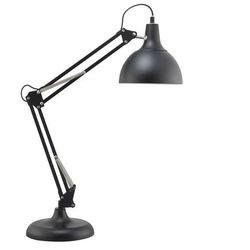 Stojąca lampka biurkowa dave 7901104 stołowa lampa metalowa na regulowanym ramieniu czarna marki Spotlight