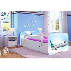 Łóżko dziecięce Kocot-Meble BABYDREAMS SAMOLOT, Kolory Negocjuj Cenę
