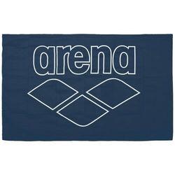 Arena pool smart ręcznik, navy-white 2019 ręczniki i szlafroki sportowe