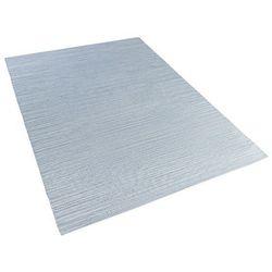 Beliani Dywan - jasnoniebieski - 140x200 cm - bawełna - handmade - derince (4260580938292)