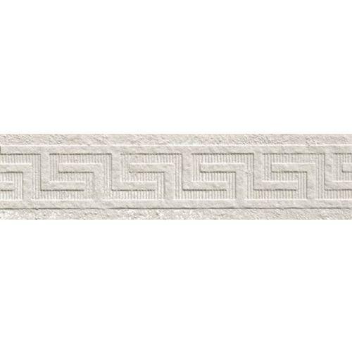 PALACE STONE Fasce Greca Pavimenti White 9,8x39,4 (P-31) z kategorii glazura i terakota
