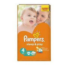 Pieluszki Pampers Sleep&Play 4 MAXI, 68 szt. - sprawdź w wybranym sklepie
