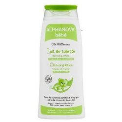 Alphanova Organiczne mleczko z oliwą z oliwek do mycia niemowląt, 200 ml  bebe
