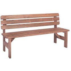 Ławka drewniana miriam - 200cm marki Wood