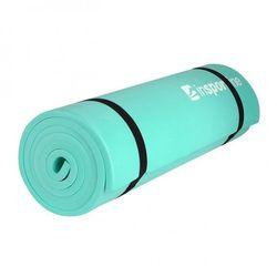 Karimata do ćwiczeń  eva mata 180 x 50 x 1 cm - kolor zielony wyprodukowany przez Insportline