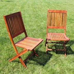 Drewniane Krzesło Ogrodowe TERESA Akacja 90x57x45cm