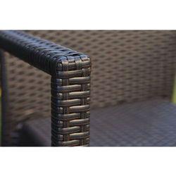 Krzesło ogrodowe VERONA kolor grafitowo-brązowyUwaga: produkt na wyczerpaniu - produkt dostępny w Bemondi.p