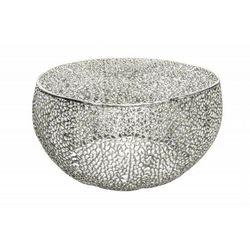INVICTA stolik LEAF 80 srebrny - metal