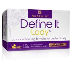 define it lady 60 tabletek od producenta Queen fit