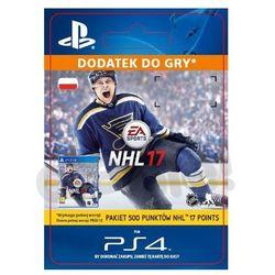 NHL 17 500 Punktów [kod aktywacyjny] z kategorii Pozostałe akcesoria do konsoli