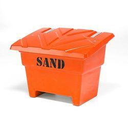 Aj produkty Pojemnik na sól/piach, 850x1120x800 mm, 350 l, pomarańczowy