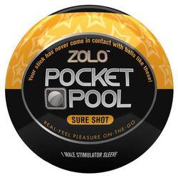 Kieszonkowy rozciągliwy masturbator  Pocket Sure Shot, produkt marki Zolo