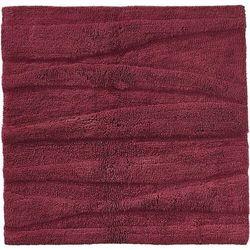 Dywanik łazienkowy flow 65 x 65 cm czerwony marki Zone denmark