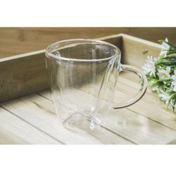 Giardino home kubek szklany z podwójnymi ściankami 200 ml marki Giardino / home-akcesoria kuchenne
