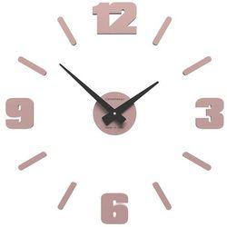 Zegar ścienny Michelangelo mały CalleaDesign antyczny-różowy, kolor różowy