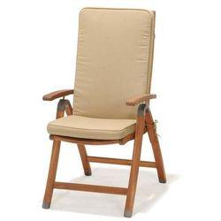 D2.design Krzesło składane z podłokietnikami z poduszką catalina, kategoria: krzesła ogrodowe