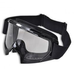 Gogle do motocross, czarne okulary ochronne - sprawdź w VidaXL