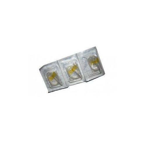 Igła motylek KD-FLY 0,9x19 żółty 20Gx3/4