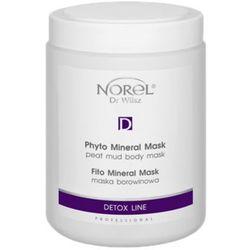 Norel (Dr Wilsz) PHYTO MINERAL MASK PEAT MUD BODY MASK Maska borowinowa (PN065) z kategorii Pozostałe kosmety