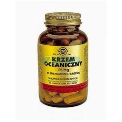 SOLGAR Krzem oceaniczny, 50 kapsułek, postać leku: kapsułki